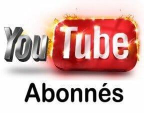 youtube abonnés